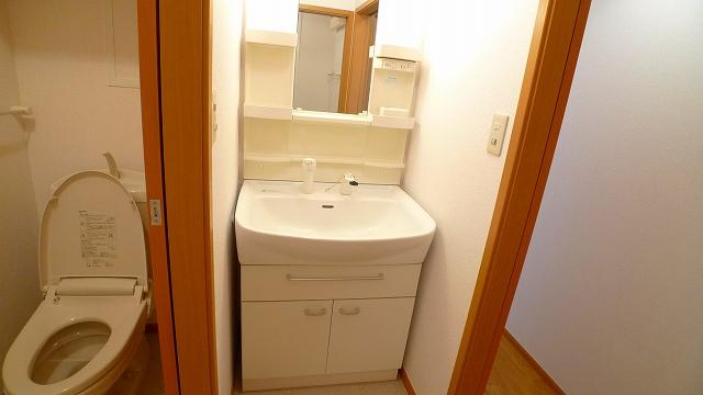 アフェットA 02010号室の洗面所