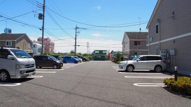 アフェットA 02010号室の駐車場