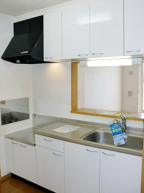 フォー リーフ クローバー 02020号室のキッチン