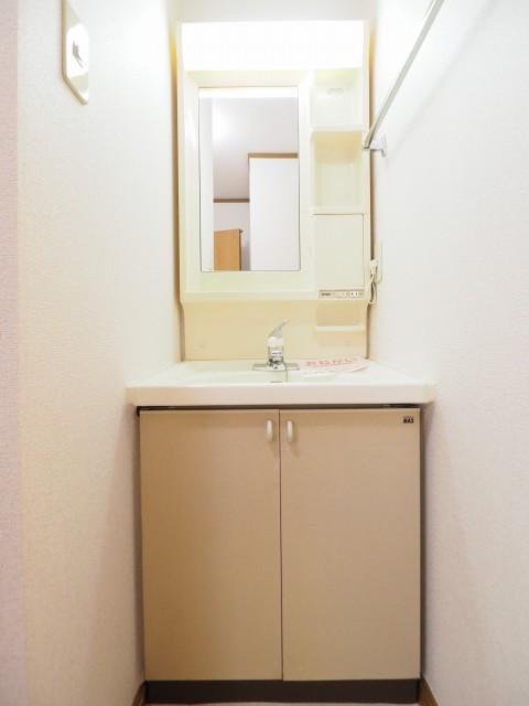キャラバンサライ弐番館 01020号室の洗面所