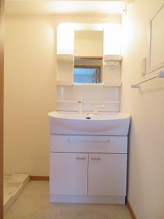 メリディオ城西B 02010号室の洗面所