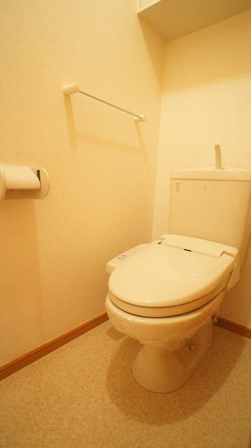 ラ・フルール A 01030号室のトイレ