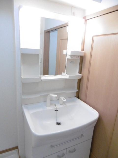 ラ・フルール A 02010号室の洗面所