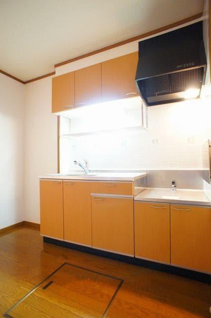 ホ-スブリッジⅢ 01020号室のキッチン