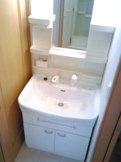 ヴィラ・グリシ-ヌ 01040号室の洗面所