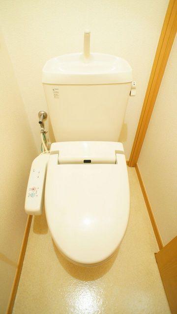 ヴィラ・グリシ-ヌ 01040号室のトイレ