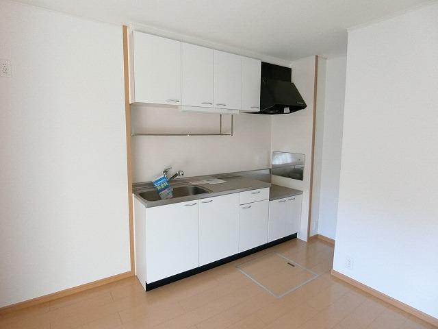 プリアールA 01030号室のキッチン