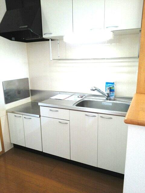 ドミ-ルA 02010号室のキッチン