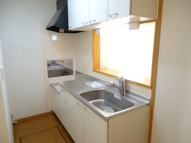 プラシ-ド メゾン 01020号室のキッチン