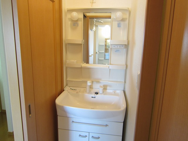 プラシ-ド メゾン 01020号室の洗面所