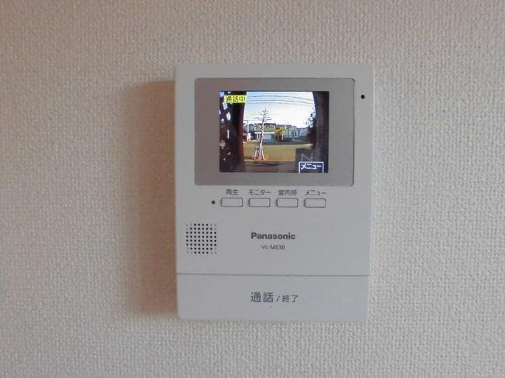 メイプルタウン壱番館 01030号室のセキュリティ