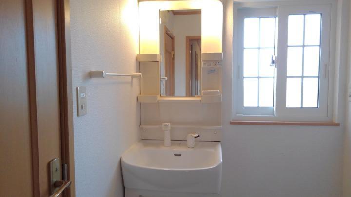 ブリーズ 01010号室の洗面所