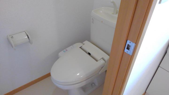 ブリーズ 01010号室のトイレ