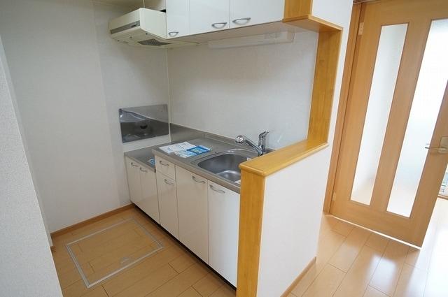 アルメリーナC 01020号室のキッチン