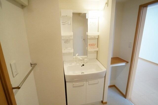 アルメリーナC 01020号室の洗面所