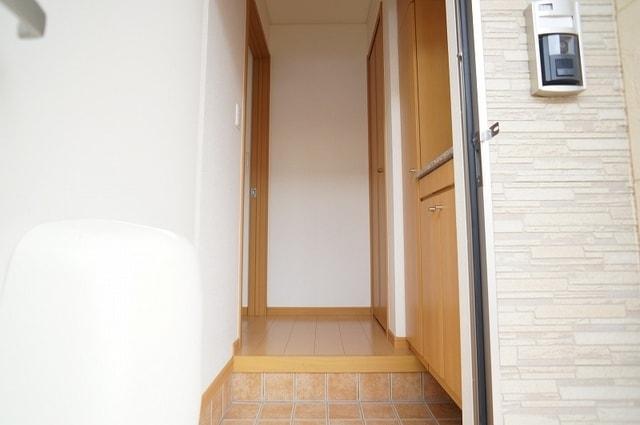 アルメリーナC 01020号室の玄関