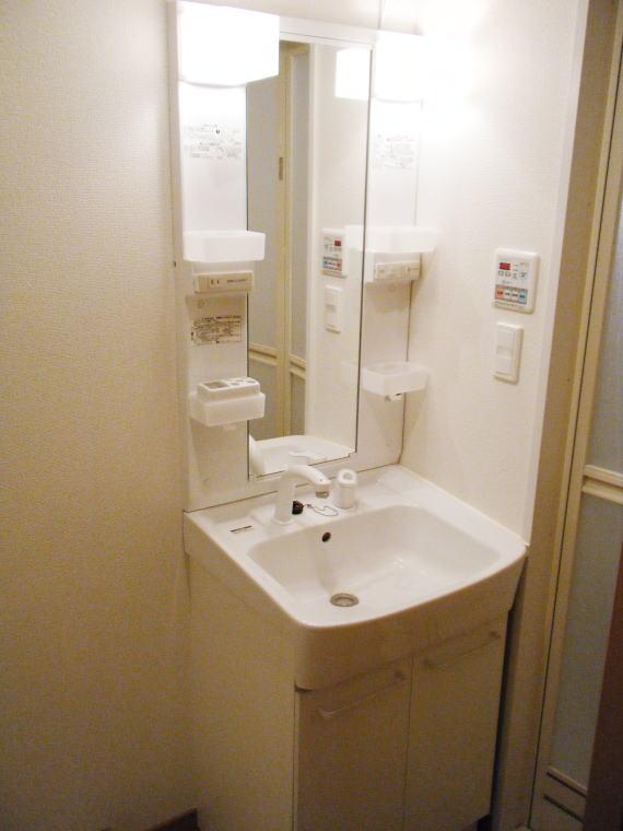 プレ・アビタシオン春日部Ⅱ 04040号室の洗面所