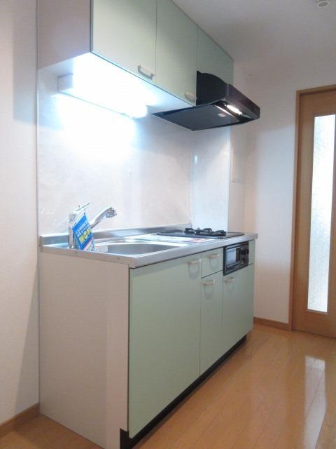 プレ・アビタシオン春日部Ⅱ 04040号室のキッチン