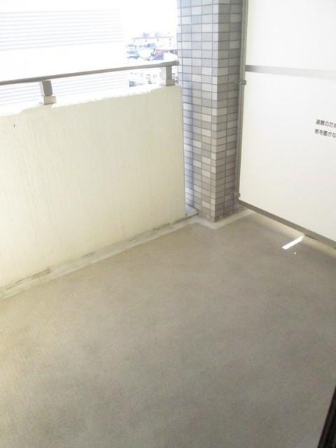 プレ・アビタシオン春日部Ⅱ 04040号室のバルコニー
