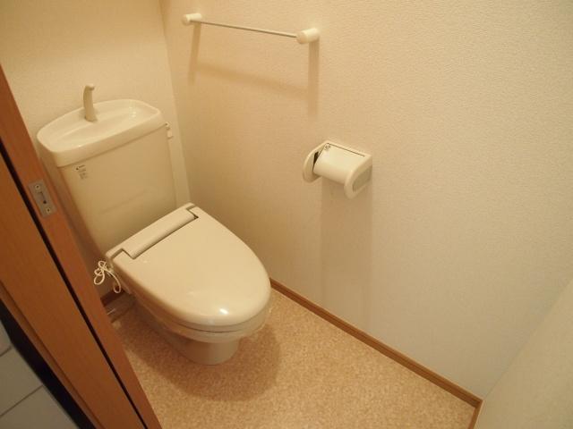 シャルマン弐番館 01020号室のトイレ