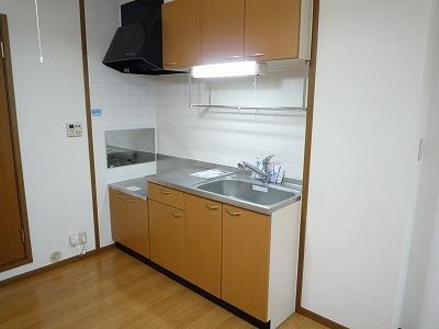 グランチェルト 02020号室のキッチン