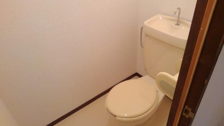 エルディム長谷川Ⅰ 01010号室のトイレ