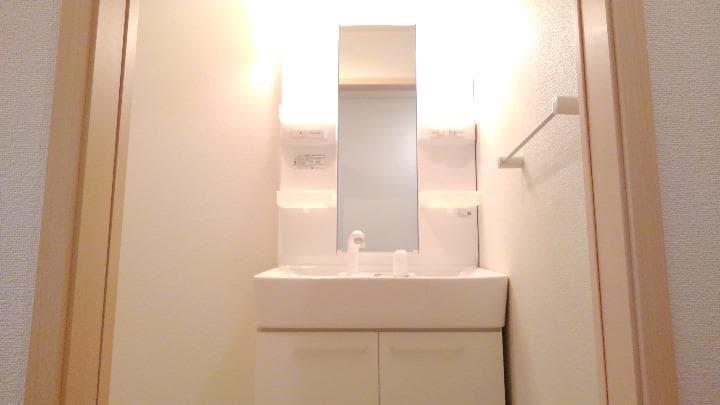 マウンド・フィールドⅡ 01010号室の洗面所