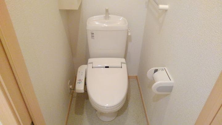 マウンド・フィールドⅡ 01010号室のトイレ