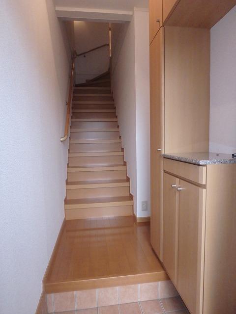 フォンティーヌB 02020号室の玄関