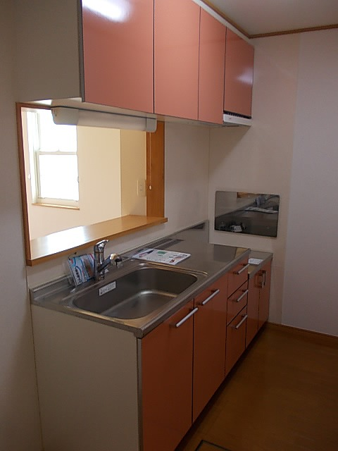 ラフィネ・ロジュマン B 02030号室のキッチン