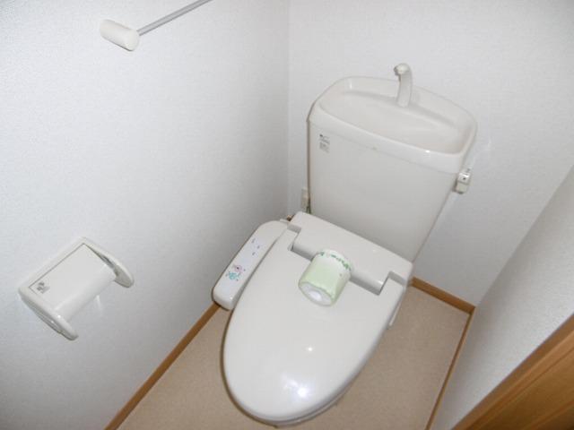 ラフィネ・ロジュマン B 02030号室のトイレ