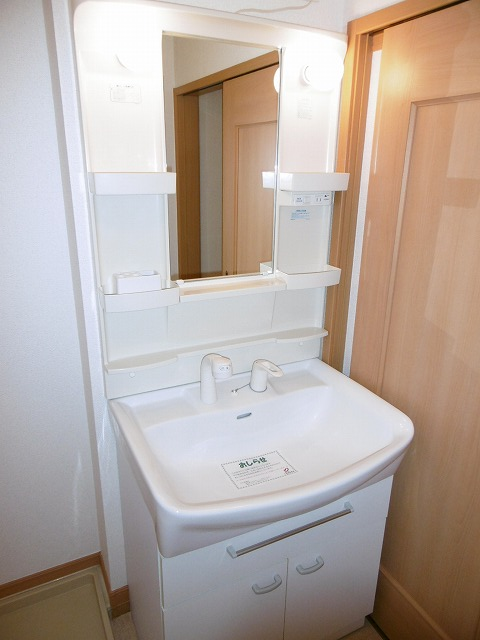 ラフィネ・ロジュマン B 02030号室の洗面所