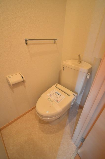 エクセランコートA 01010号室のトイレ