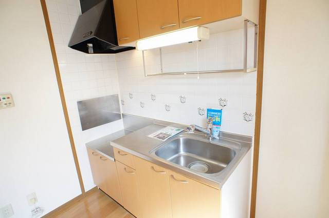 プレミール 02030号室のキッチン