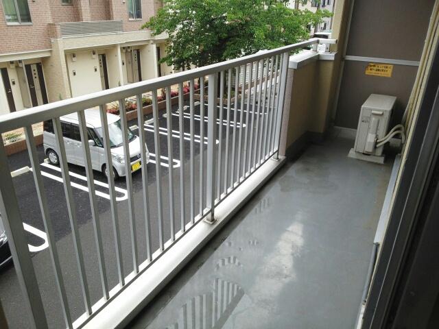 サンフローラル 02050号室のバルコニー