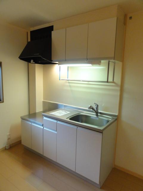 ファミール井上Ⅱ 01010号室のキッチン
