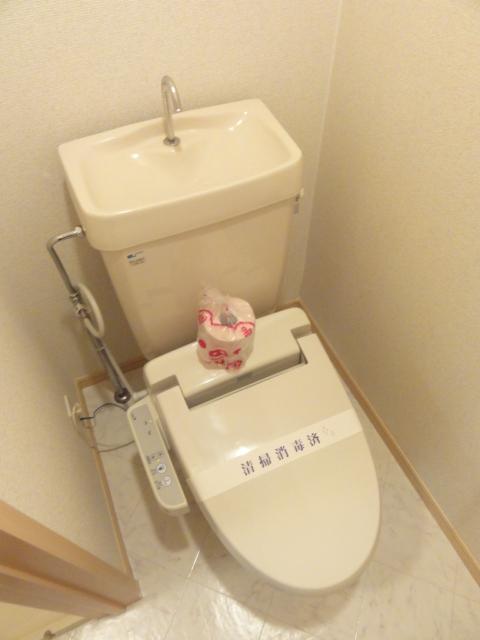 ファミール井上Ⅱ 01010号室のトイレ