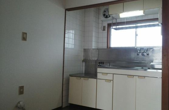 第2コーポミドリ 02030号室のキッチン