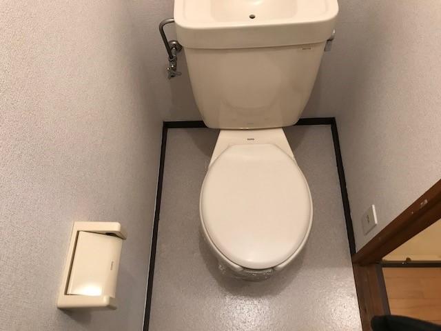 第2コーポミドリ 02030号室のトイレ