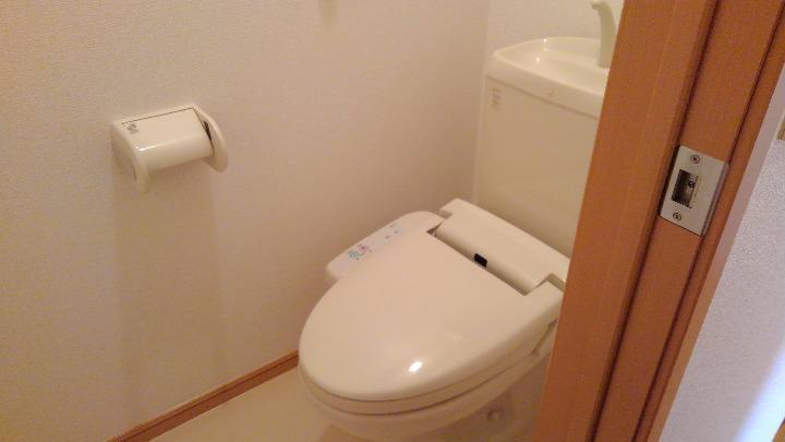 セレニテ 02010号室のトイレ