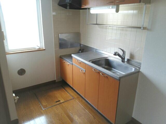 ハイパーク 01010号室のキッチン