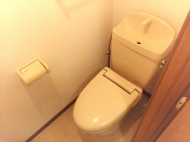 ハイパーク 01010号室のトイレ