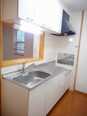 サンリットA 02010号室のキッチン