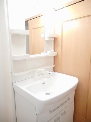 サンリットA 02010号室の洗面所