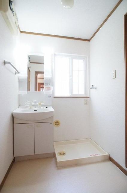 メゾンカネジョウ 01030号室の洗面所