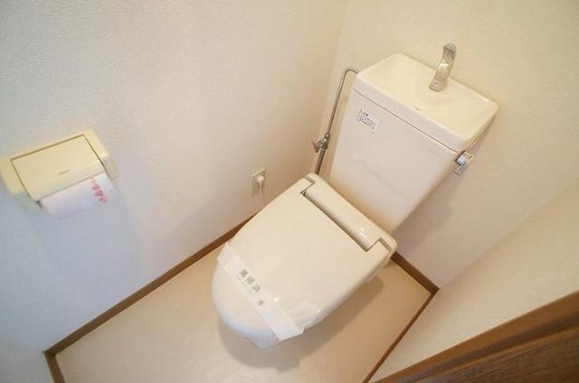 メゾンカネジョウ 01030号室のトイレ