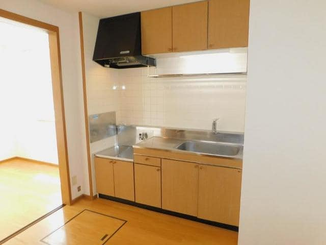 グランルージュ 01030号室のキッチン