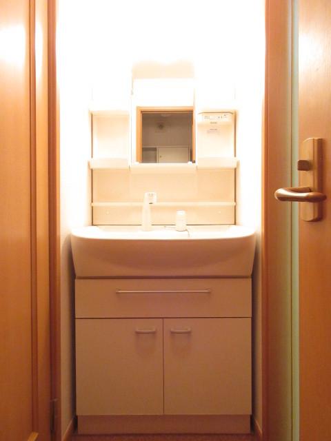 ファミーユ相原 01010号室の洗面所