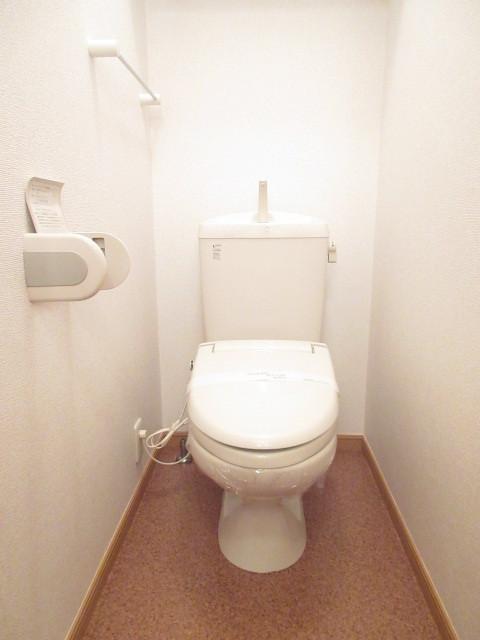 ファミーユ相原 01010号室のトイレ