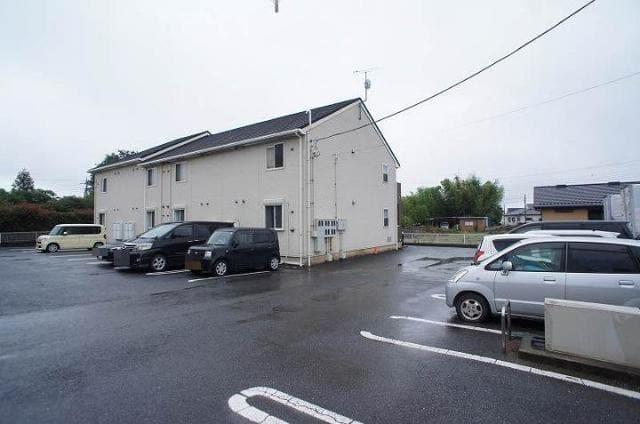 サニースパーブ レジデンスA 02040号室の駐車場